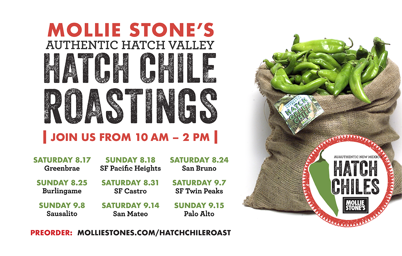 Mollie Stone's Annual Hatch Chile Roasts | Edible Silicon Valley