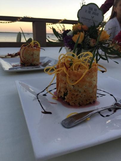 1 of 5 courses served at Spring Ahead