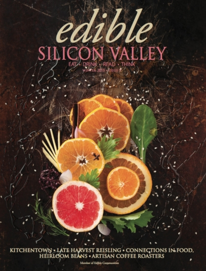 Edible Silicon Valley magazine cover