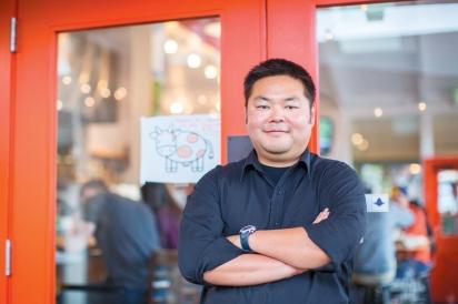 Chew and Owner Chris Yamashita