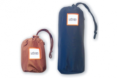 2 URBAN MARKET BAGS, large and small
