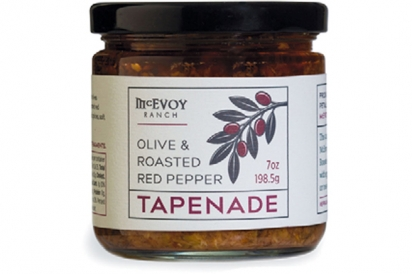 McEVOY RANCH'S SPICY GREEN OLIVE TAPENADE