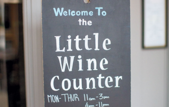 the little wine counter
