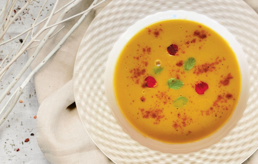 Butternut Squash Soup With Coconut Milk Lemongrass And Lime Fall Recipe Edible Silicon Valley